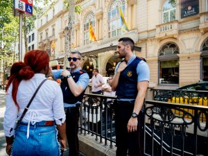 Blackman Bail Bonds cop tell you to leave public property